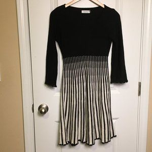 Calvin Klein Sweater Dress Fit and Flare Size S
